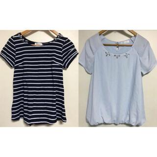 フェルゥ(Feroux)のトップスセット(Tシャツ(半袖/袖なし))