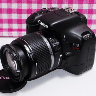 キヤノン(Canon)の❤️相棒と出掛けよう❤️Canon kiss x4 一眼レフキット・安心保証(デジタル一眼)