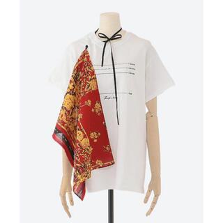 マルタンマルジェラ(Maison Martin Margiela)のMISTER ITミスターイット20SS バンダナ付きTシャツ カットソー(Tシャツ(半袖/袖なし))