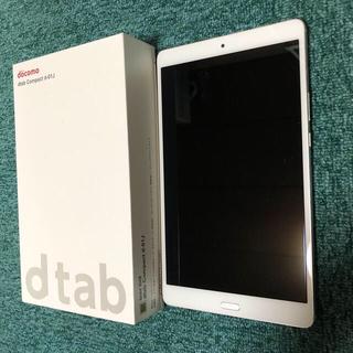 NTTdocomo - docomo d tab タブレット端末 d-01J