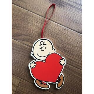 SNOOPY 木製 チャーリーブラウン 雑貨 メッセージ タグ(その他)