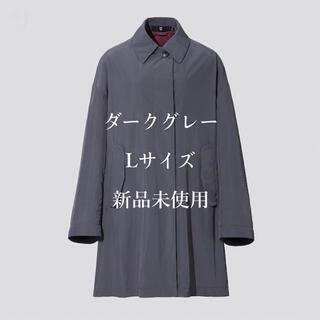 ユニクロ(UNIQLO)の【即完売】オーバーサイズライトコート グレー L(スプリングコート)