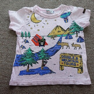 MIKI HOUSE ダブルB Tシャツ 80