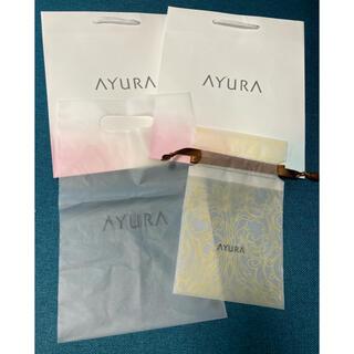アユーラ(AYURA)のアユーラ AYURA 化粧品 ショッパー 紙袋 巾着(ショップ袋)