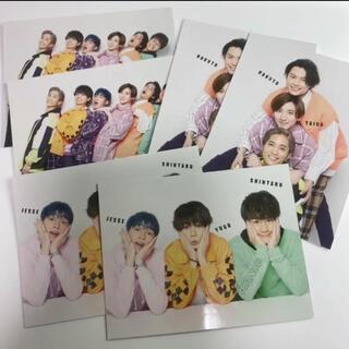 ジャニーズ(Johnny's)の2021/6 POTATO SixTONESメッセージカード 6枚セット(アイドルグッズ)
