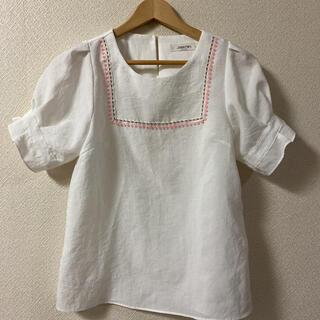 スタイルナンダ(STYLENANDA)の韓国 ファッション パフスリーブ トップス ブラウス(シャツ/ブラウス(半袖/袖なし))