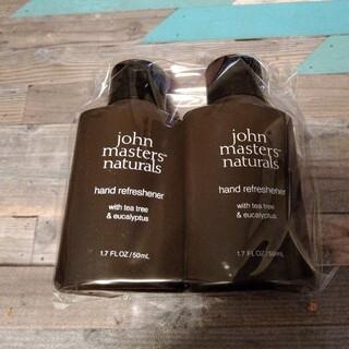 ジョンマスターオーガニック(John Masters Organics)の☆2個☆ ジョンマスターT&E ハンドリフレッシュナー50ml(ハンドクリーム)