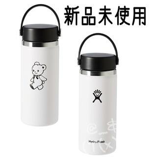 familiar - ファミリア  ハイドロフラスク ステンレスボトル 白 ホワイト 水筒