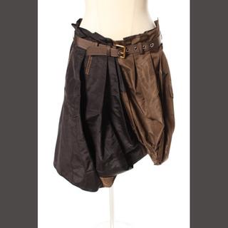 ルイヴィトン(LOUIS VUITTON)のルイヴィトン LOUIS VUITTON スカート 再構築 トレンチデザイン ひ(ひざ丈スカート)