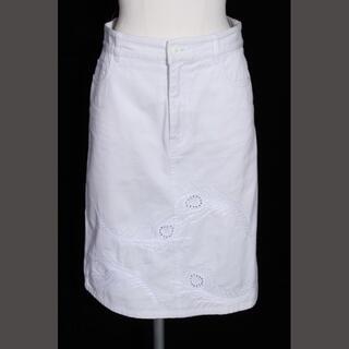 シーバイクロエ(SEE BY CHLOE)のシーバイクロエ SEE BY CHLOE コットン 刺しゅう スカート ahm0(ひざ丈スカート)