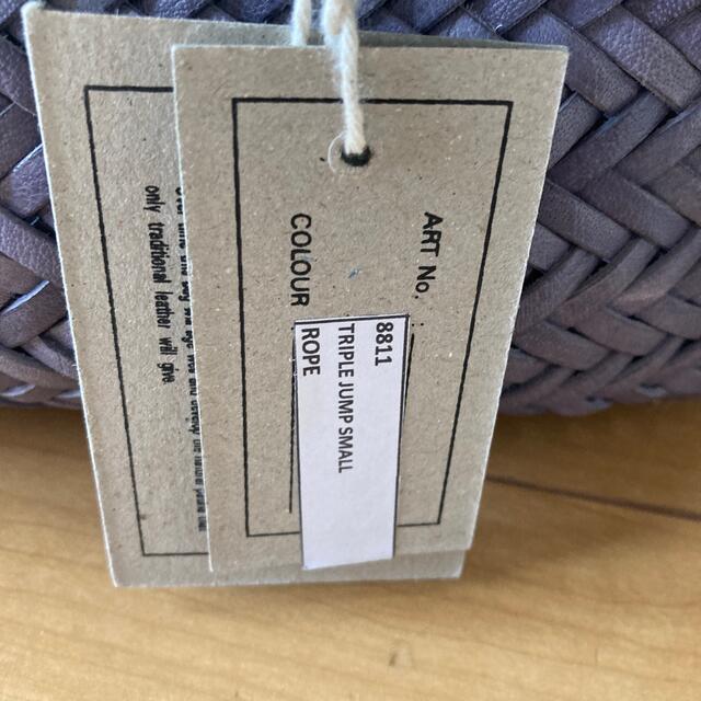 DRAGON(ドラゴン)のDragonDiffusionTRIPLE JUMP SMALLRopeグレー系 レディースのバッグ(かごバッグ/ストローバッグ)の商品写真