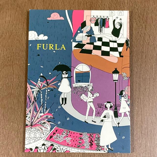 Furla(フルラ)のFURLA ミニノート インテリア/住まい/日用品の文房具(ノート/メモ帳/ふせん)の商品写真