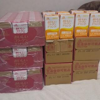 モリナガセイカ(森永製菓)の森永 おいしいコラーゲンドリンク お得セット 128本(コラーゲン)