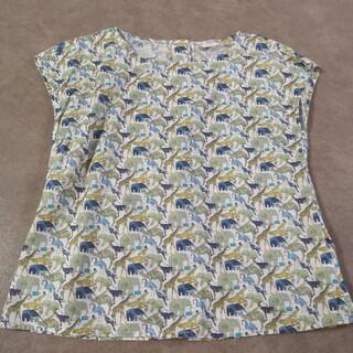 テチチ(Techichi)のテチチ リバティ トップス アニマル柄 (Tシャツ(半袖/袖なし))