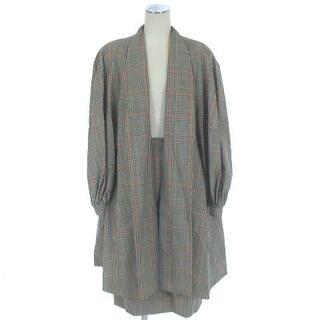 Christian Dior - クリスチャンディオール ヴィンテージ セットアップ コート スカート グレー 9