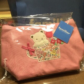 ファミリア(familiar)のfamiliar ファミリア キッズショルダーバッグ ピンク 【新品・未使用】(ポシェット)