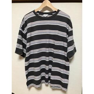 アンユーズド(UNUSED)のunused 2020ss ボーダーT サイズ2(Tシャツ/カットソー(半袖/袖なし))