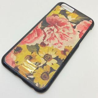 ドルチェアンドガッバーナ(DOLCE&GABBANA)のドルチェアンドガッバーナ iPhoneケース  プラスチック  ブラック(iPhoneケース)