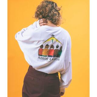 フリークスストア(FREAK'S STORE)のADIOS AMIGOS バックプリント ロングTシャツ(Tシャツ(長袖/七分))