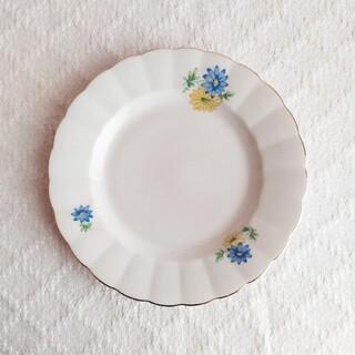 アラビア(ARABIA)の*old arabia ❀ ブルー&イエローの dessert plate(食器)
