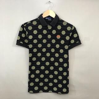 フレッドペリー(FRED PERRY)のフレッドペリー FRED PERRY ポロシャツ 半袖 ドット柄 ロゴ刺繍(ポロシャツ)