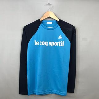 ルコックスポルティフ(le coq sportif)のルコック le coq sportif ドライシャツ 長袖 ロゴプリント(ウェア)