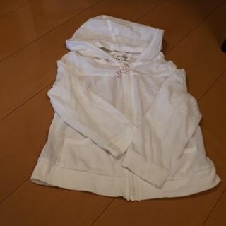 エニィファム(anyFAM)のエニィファム110フードつき2way薄手パーカー(ジャケット/上着)