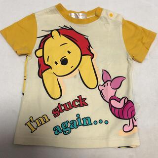 クマノプーサン(くまのプーさん)の❁⃘*.゚Disney ディズニー プーさん 半袖 Tシャツ 80(Tシャツ)