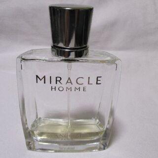 ランコム(LANCOME)のLANCOME MIRACLE HOMME 使いかけ香水(香水(男性用))