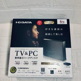 IODATA - 新品、未開封☆アイオーデータ 外付けハードディスク 4TB
