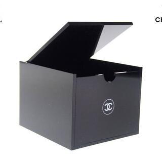 シャネル(CHANEL)の【新品】シャネル ノベルティ アクリルケース ルージュスタンド 黒(小物入れ)