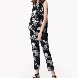 theory - 【裾上げ済】Theory  Photo Floral CDC セットアップ