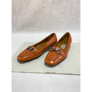 フェラガモ(Ferragamo)のMi4001フェラガモローファードライビングシューズ6-1/2(6.5)(ローファー/革靴)