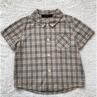 バーバリー(BURBERRY)のyuyu様専用 Burberry バーバリー チェックシャツ 80サイズ(シャツ/カットソー)