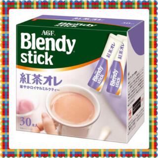 エイージーエフ(AGF)のブレンディ スティック 紅茶オレ 30本(茶)