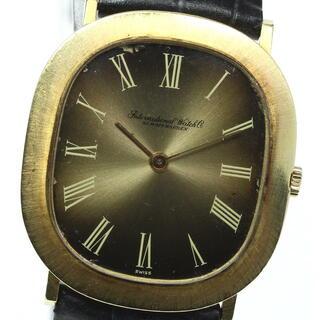 インターナショナルウォッチカンパニー(IWC)のIWC  アンティーク K18YG cal.185  手巻き メンズ 【中古】(腕時計(アナログ))