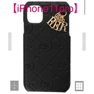 メゾンドフルール(Maison de FLEUR)のメゾンドフルール  モノグラムアイフォン11Proケース iPhone(iPhoneケース)