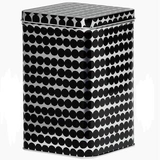 マリメッコ(marimekko)の【限定品】マリメッコ★ラシィマット★ブリキ缶(収納/キッチン雑貨)