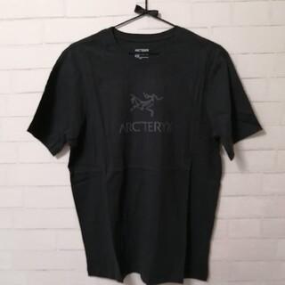 アークテリクス(ARC'TERYX)の【新品】ARC'TERYX Arc'Word T-Shirt SS メンズM 黒(登山用品)