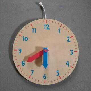 フライングタイガーコペンハーゲン(Flying Tiger Copenhagen)の学習時計(知育玩具)