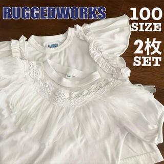 ラゲッドワークス(RUGGEDWORKS)のRUGGEDWORKS Tシャツ 2枚セット おしゃれTシャツ 半袖トップス(Tシャツ/カットソー)