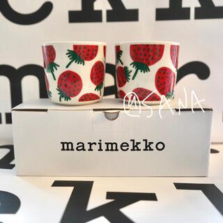 マリメッコ(marimekko)の【完売品】マリメッコ★マンシッカ★カップ(グラス/カップ)