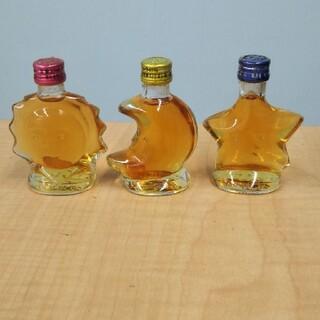 サントリー(サントリー)の古酒 サントリー ブランデー VSOP 各30ml 太陽 月 星 未開栓(ブランデー)