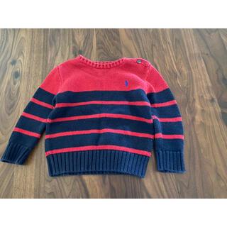 ラルフローレン(Ralph Lauren)のラルフローレン セーター ニット 90 24M ネイビー(ニット)