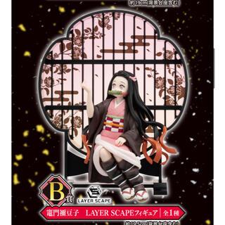 バンプレスト(BANPRESTO)の鬼滅の刃1番くじB賞禰󠄀豆子フィギュア(キャラクターグッズ)