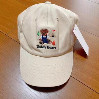 シマムラ(しまむら)のテディベア バースデイ キャップ(帽子)