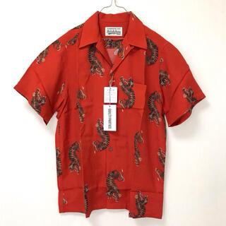 ワコマリア(WACKO MARIA)のWACKO MARIA HAWAIIAN SHIRT 虎図 TYPE-18(Tシャツ/カットソー(半袖/袖なし))