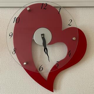 ニトリ(ニトリ)のハートの掛け時計(掛時計/柱時計)