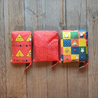 🛍siffler製miffy柄キャリーオンバッグ 折り畳みボストンバッグセット(スーツケース/キャリーバッグ)