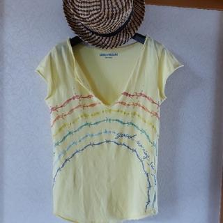 ザディグエヴォルテール(Zadig&Voltaire)のlunaさま黄色Tシャツ(シャツ/ブラウス(半袖/袖なし))